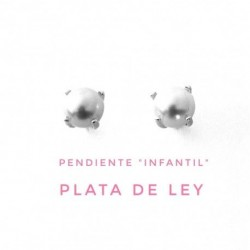 Pendiente Infantil Perla...