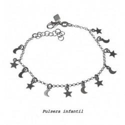 Pulsera Estrellas y Lunas...