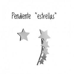 Pendiente Estrellas y...