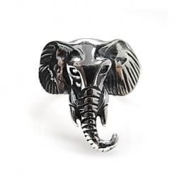 Anillo Elefante Plata