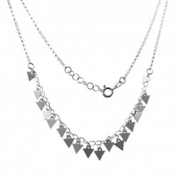 Collar Triangles Plata