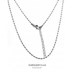 Collar Bolitas Plata
