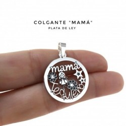 Colgante Mamá Plata