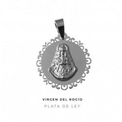 Colgante Virgen del Rocío...