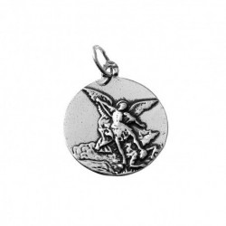 Medalla San Miguel Plata