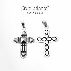 Colgante Cruz Atlante Plata