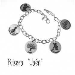 Pulsera Jaén Plata