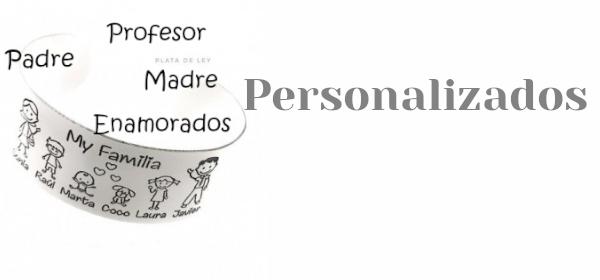 Personalizados Plata de ley
