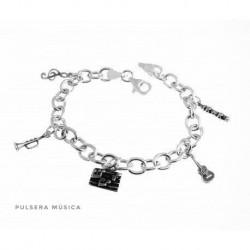 Pulsera Musical Plata
