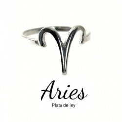 Anillo Aries Plata