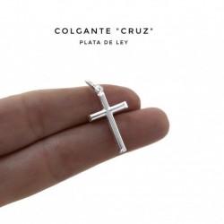 Colgante Cruz Plata