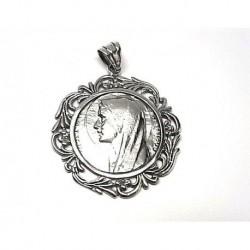Colgante Medalla V. Fátima...