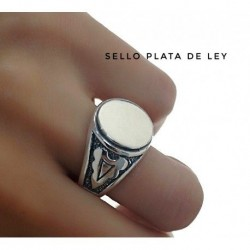 Sello Caballero Plata