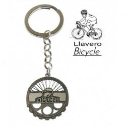 Llavero Mountainbike Plata