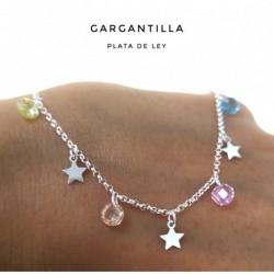 Collar Estrella Stone Plata