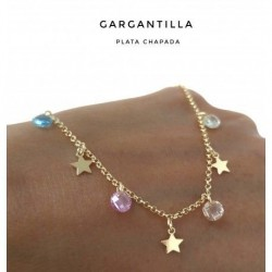 Collar Estrellas Stone...