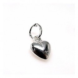 Colgante Corazón Mini Plata