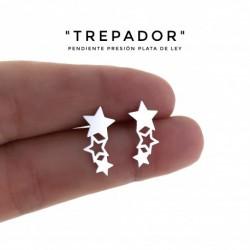Pendiente Trepador Estrella...