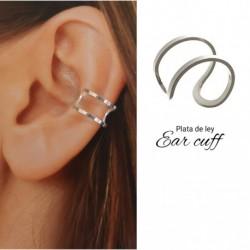 Ear Cuff Plata