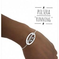 """Pulsera """"RUNNING"""" Plata"""