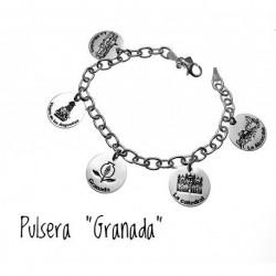 Pulsera Granada Plata
